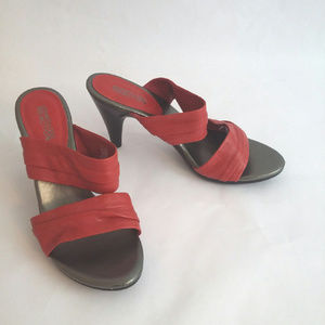 Kenneth Cole Reaction Red 7.5M Leather Sandals